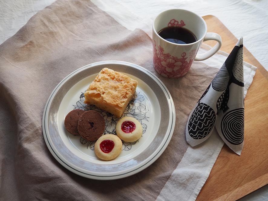 北欧菓子のテーブルコーディネート