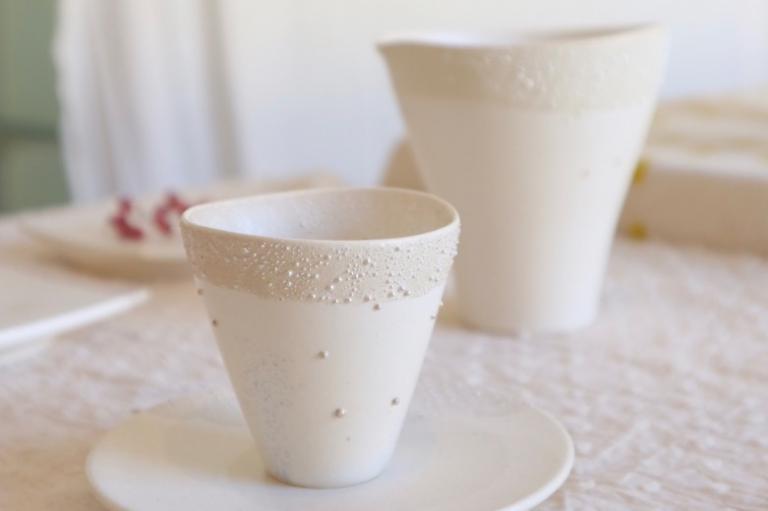 おうちで楽しむ、京の味と物㉗水滴がしたたるような、みずみずしい姿の器  「うつわhaku」
