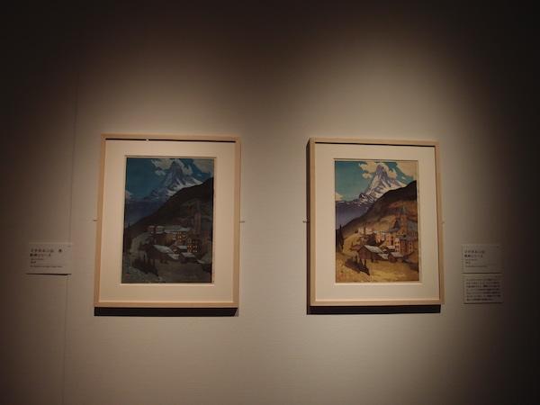 吉田さらさおでかけ「吉田博展」マタホルン、マタホルン夜P1253023.JPG