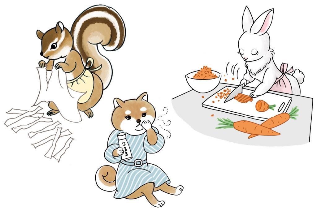 ひたすら野菜を刻む/心がザワつくときに試してみたいお守りレシピ②