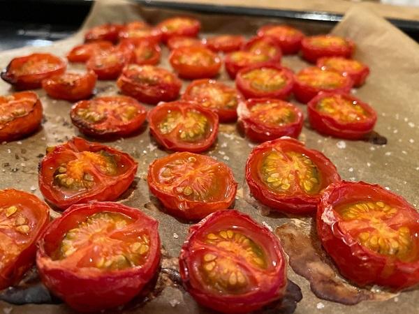 手作りのドライトマト
