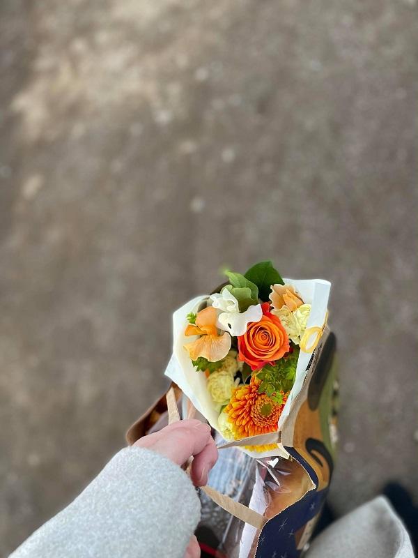 ビタミンカラーの花束2