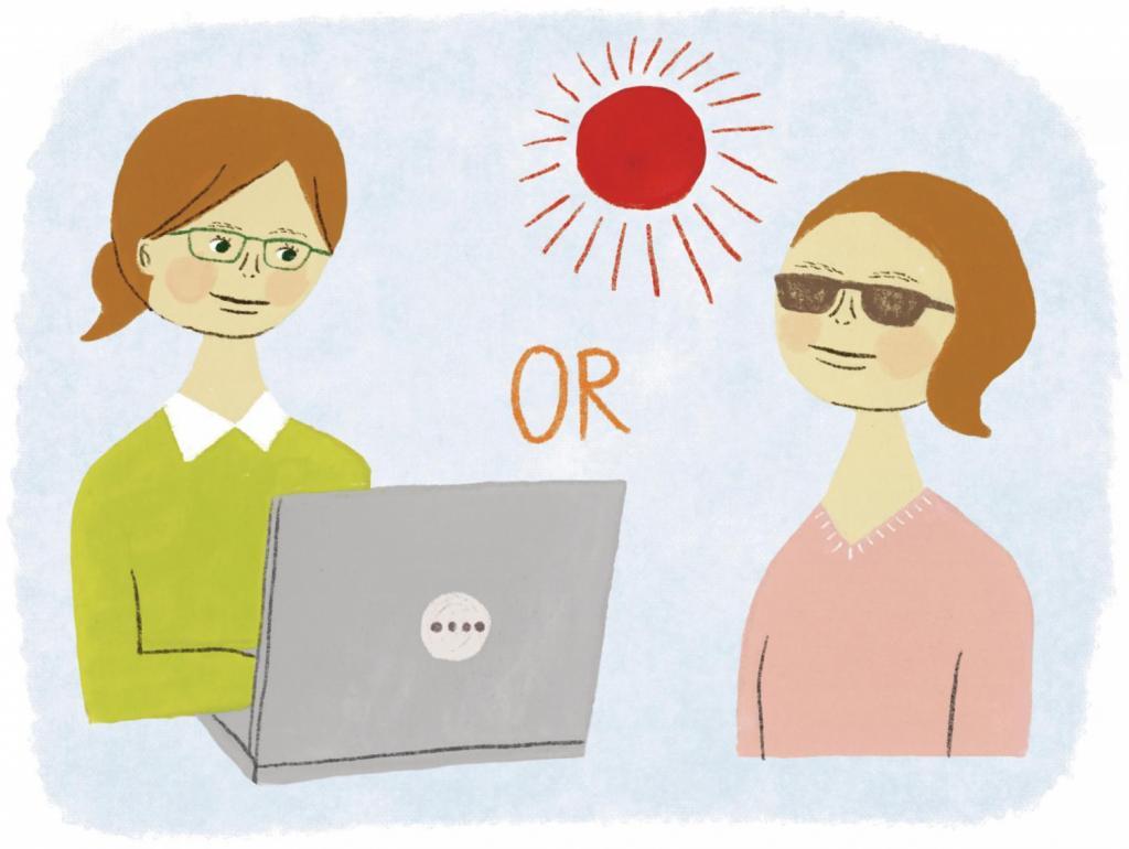 目の健康のために100%カットすべきは紫外線?それともブルーライト?
