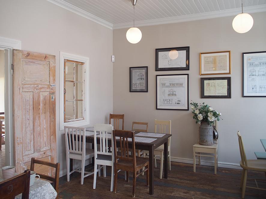 フィンランド ラウマにあるカフェの内観写真