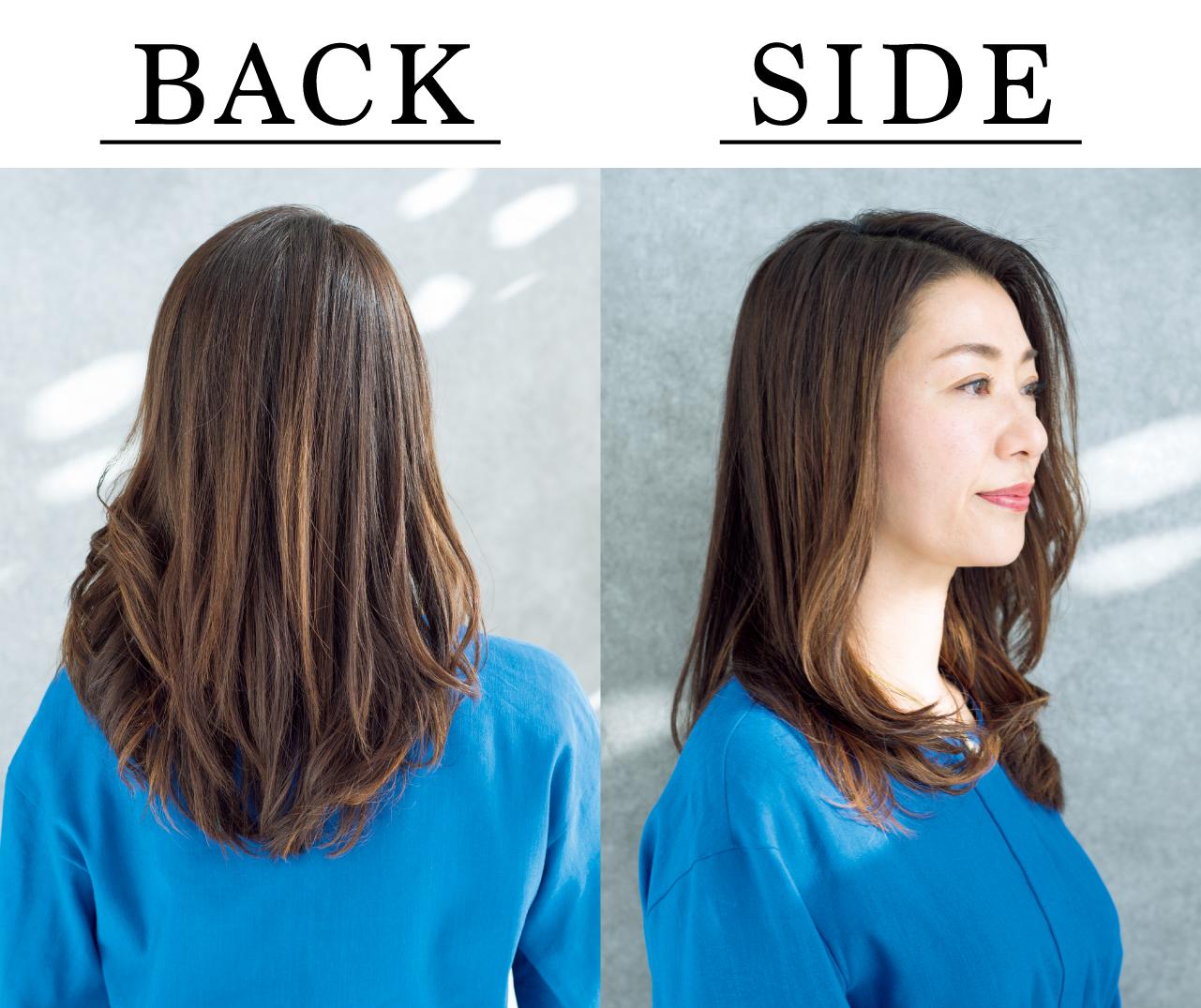 田口陽子さん Side Back