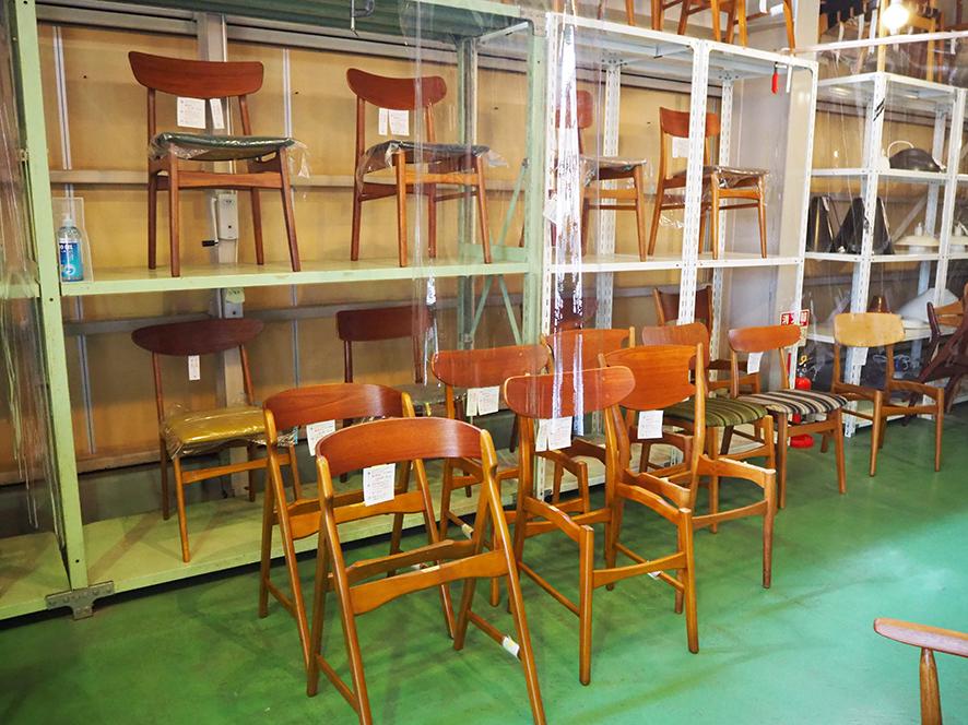 北欧家具talo 内観写真 椅子