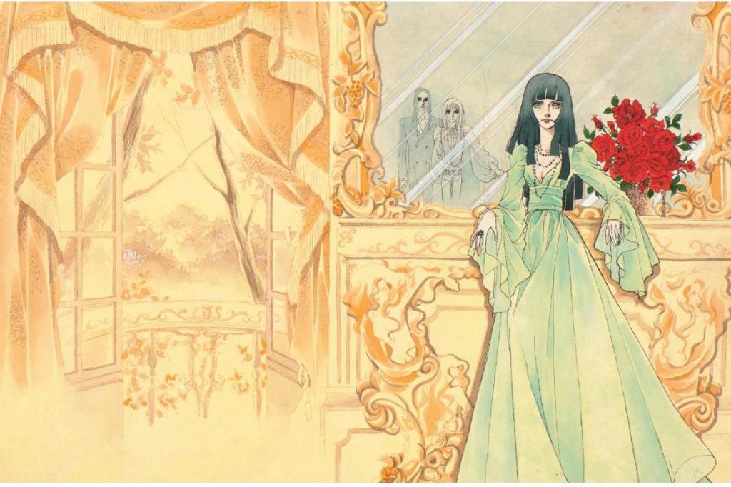 「デザイナー」りぼん1974年4月号扉