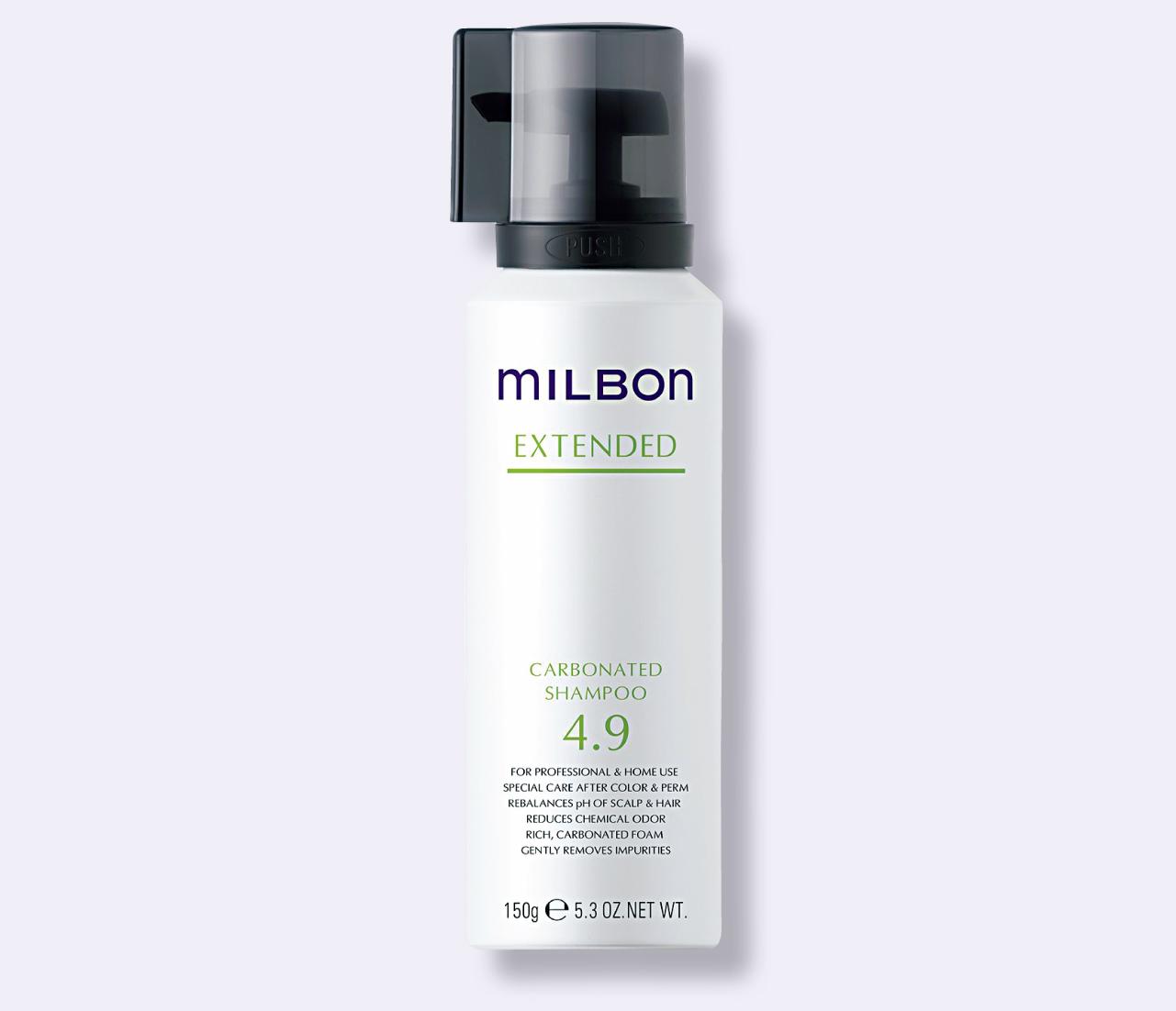 ミルボン カーボネイティッド シャンプー 150g ¥3,300/ミルボン(美容室専売品)