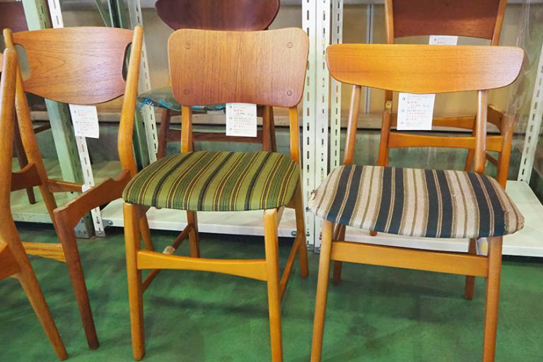 「北欧家具talo」でみつけた、デンマークのヴィンテージチェア