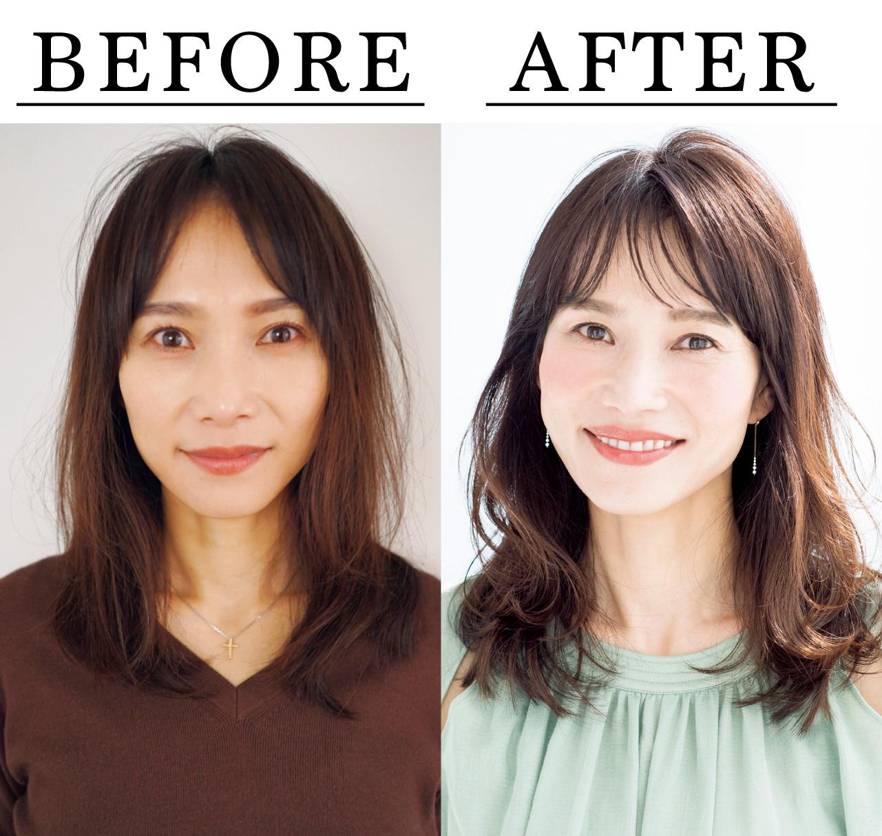 石田尚美さん Before After