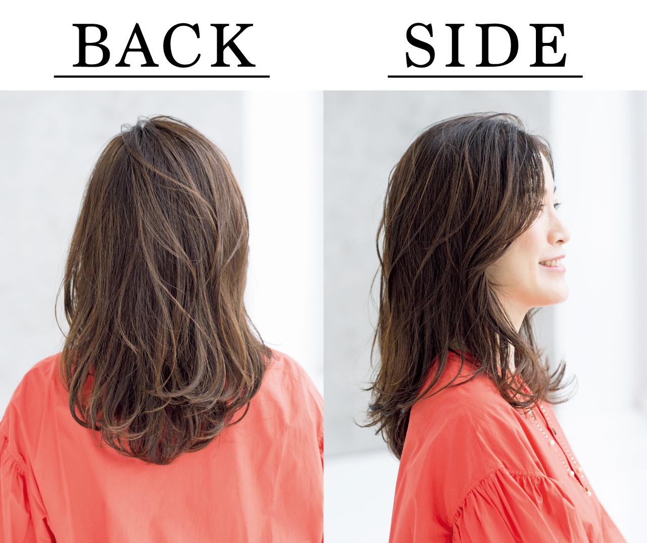 鳥居香絵さん Side Back