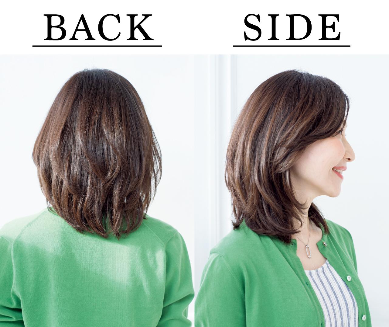 佐野裕子さん Side Back