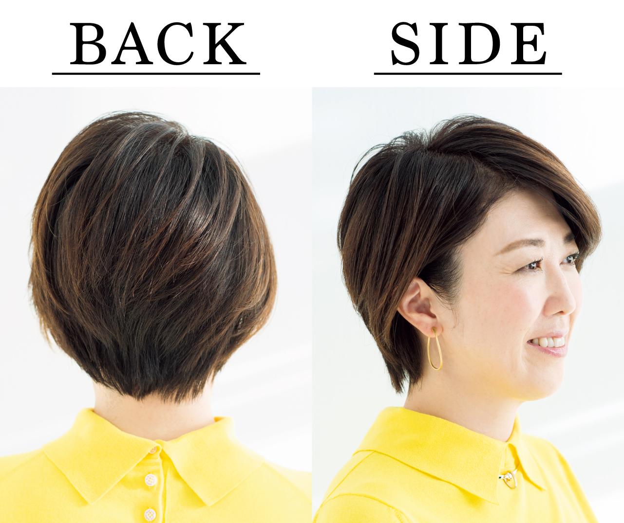 太田有希さん Side Back