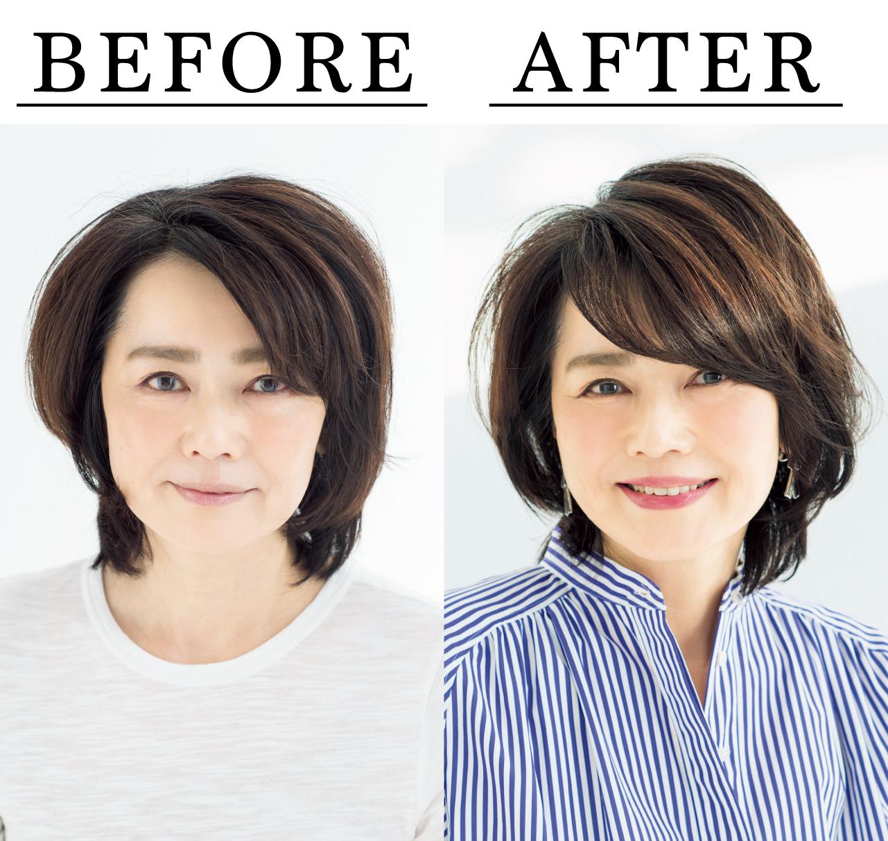 山本敦子さん Before After