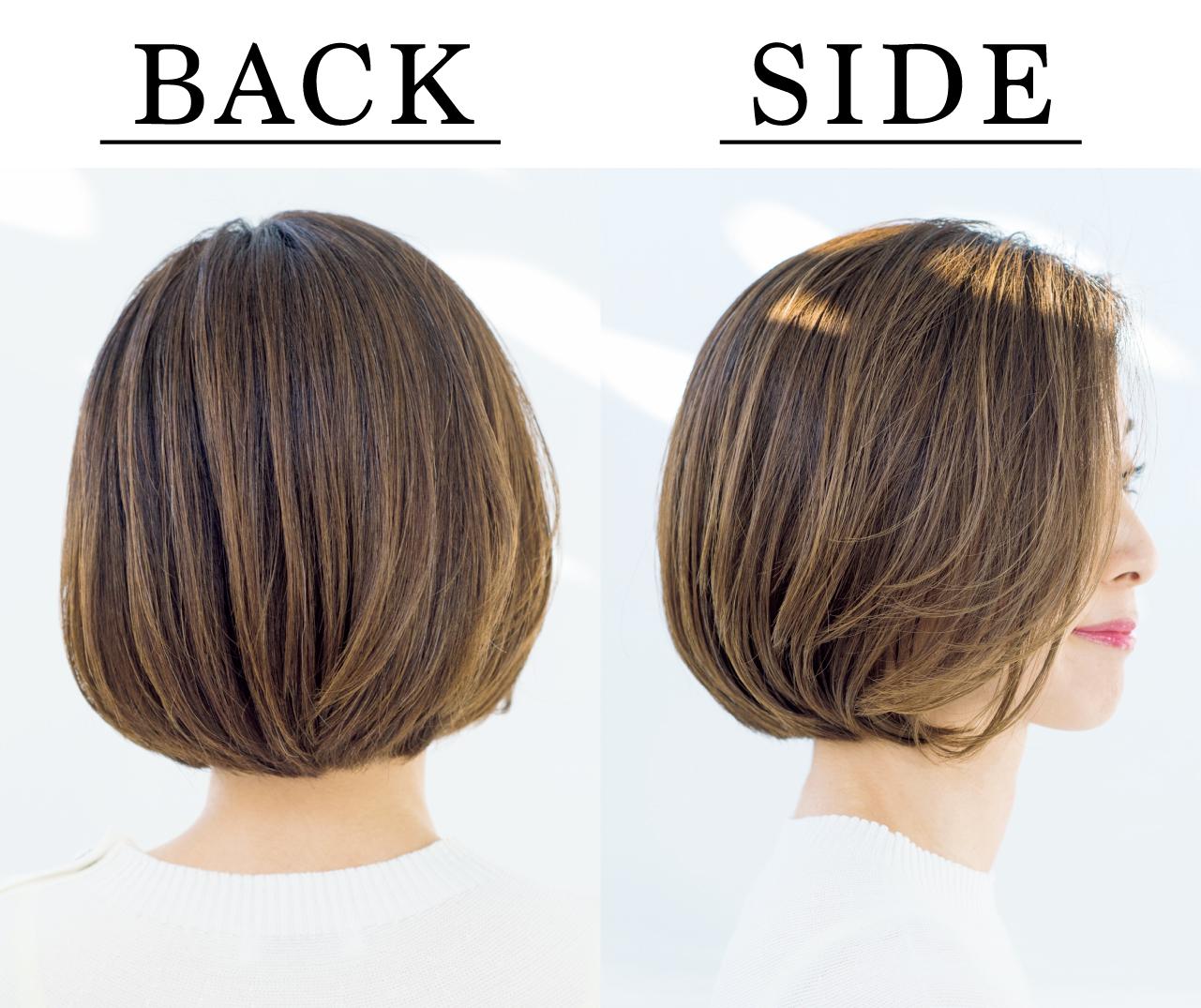岩本三枝さん Side Back