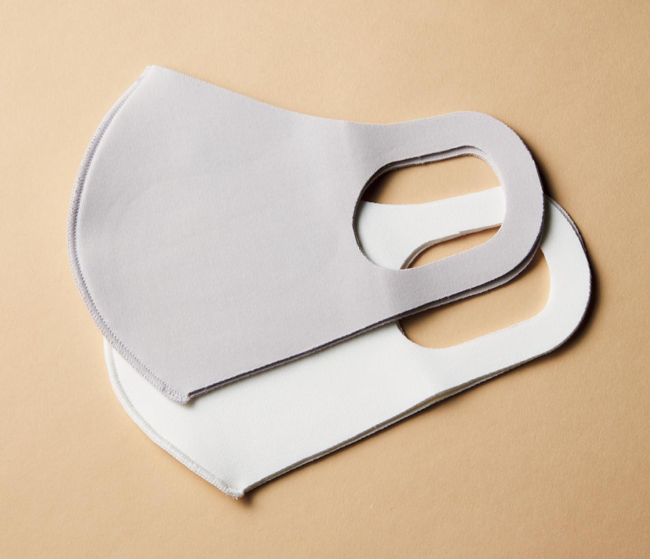 帝人フロンティア/エアロカプセル使用 抗ウイルス加工マスク 全2色 同色2枚入り 各¥1,320