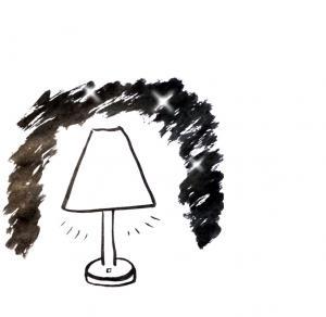 樫出さん ランプ