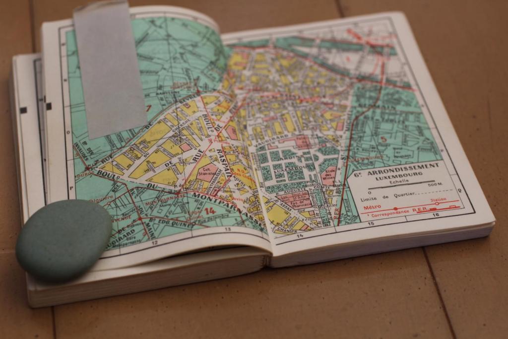 マドレーヌ 愛用パリ地図6区