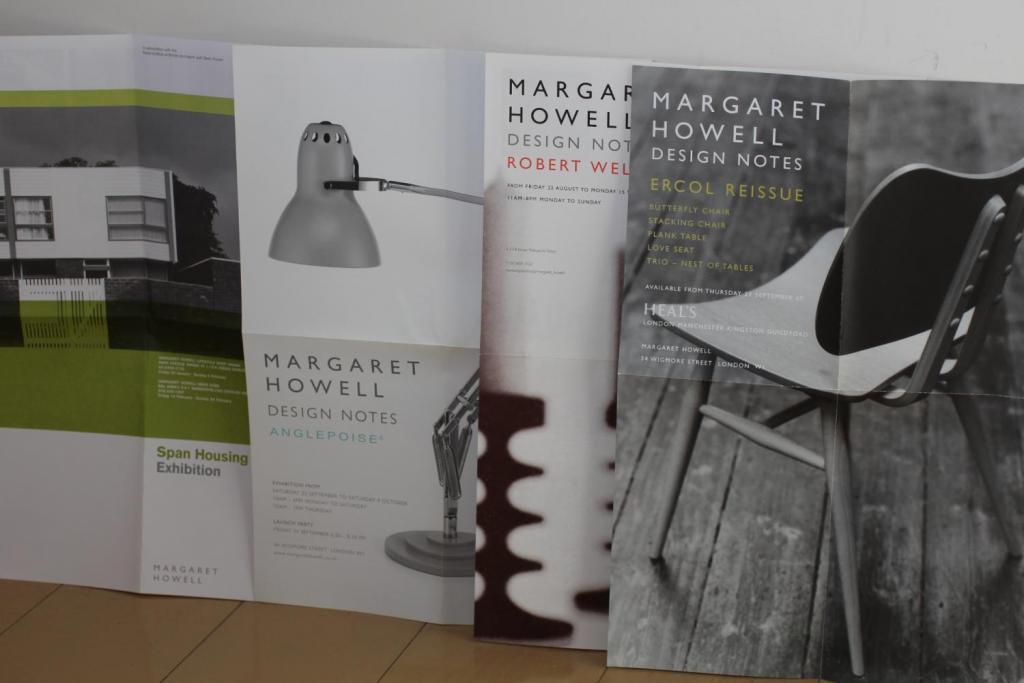 マーガレット・ハウエルのエキジビションポスター