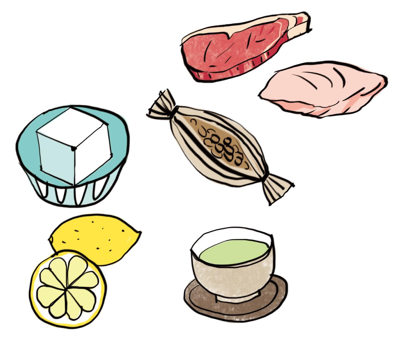 髪や体の老化をカバーする食品を積極的にとって。キーワードはタンパク質、女性ホルモン、抗酸化