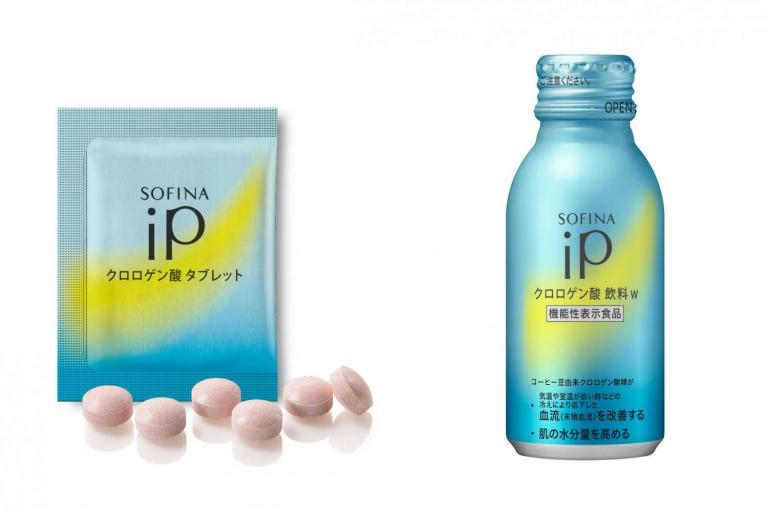 血流を改善して肌の水分量をアップ!「ソフィーナ iP」から潤い肌に導くタブレットが登場!
