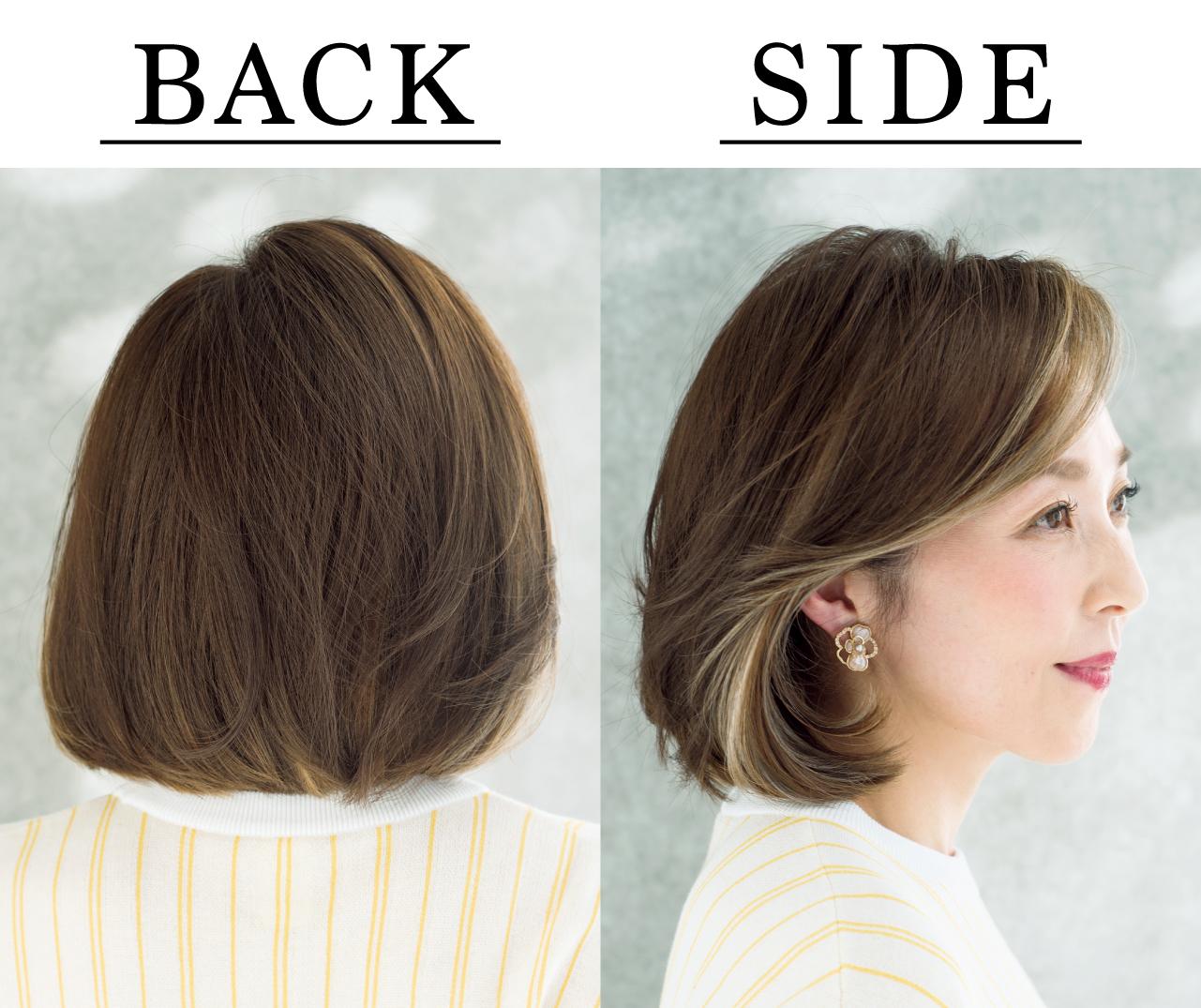 間宮秀子さん Side Back