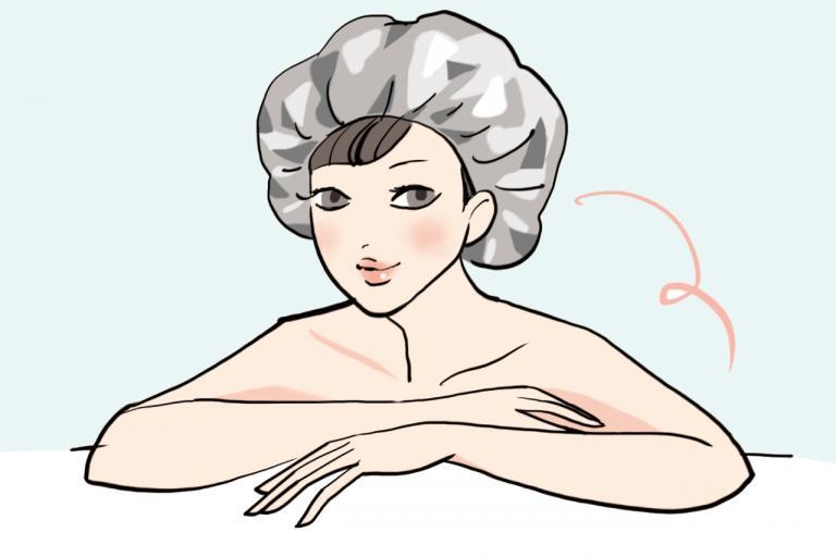 <ビューティエディター入江信子さんのパサ髪対策・後編>トリートメントはアルミキャップで浸透させます/ツヤ・ふわ美髪のあの人がしていること②