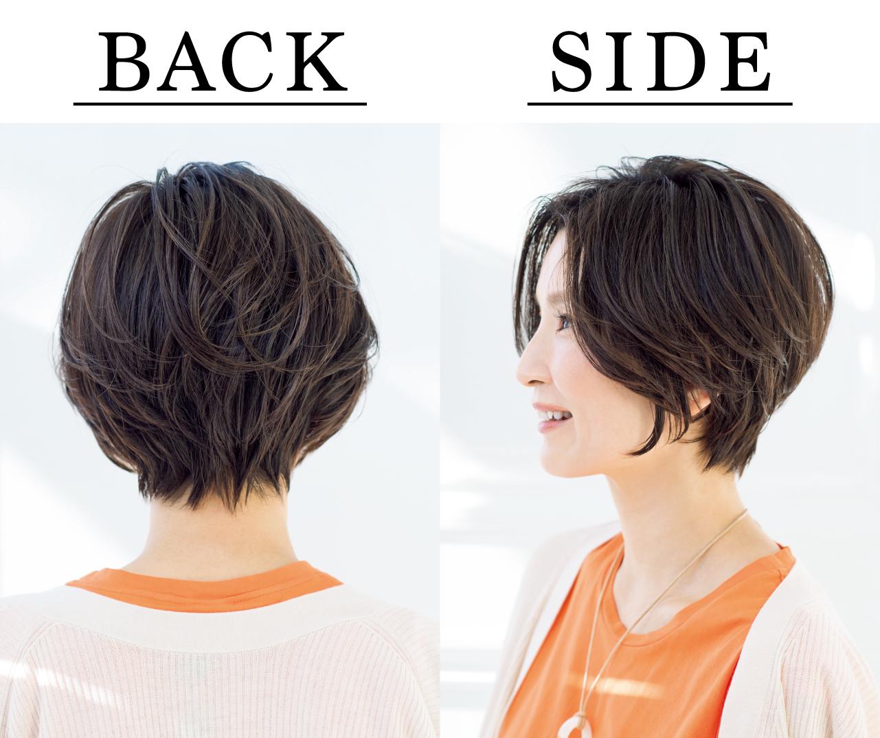 中西愛子さん Side Back