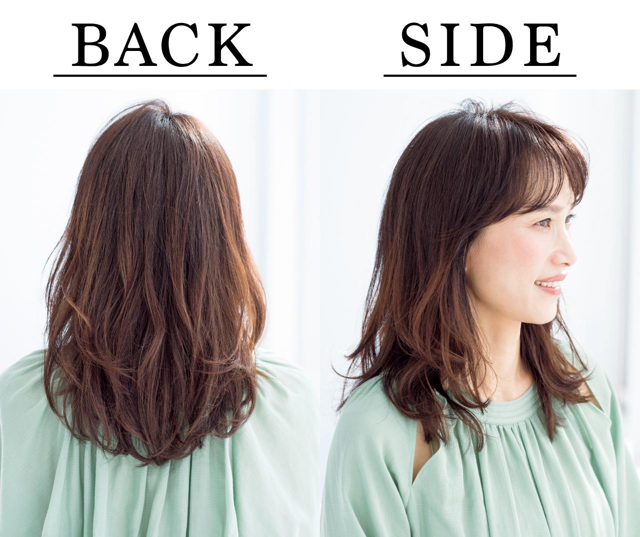 石田尚美さん Side Back