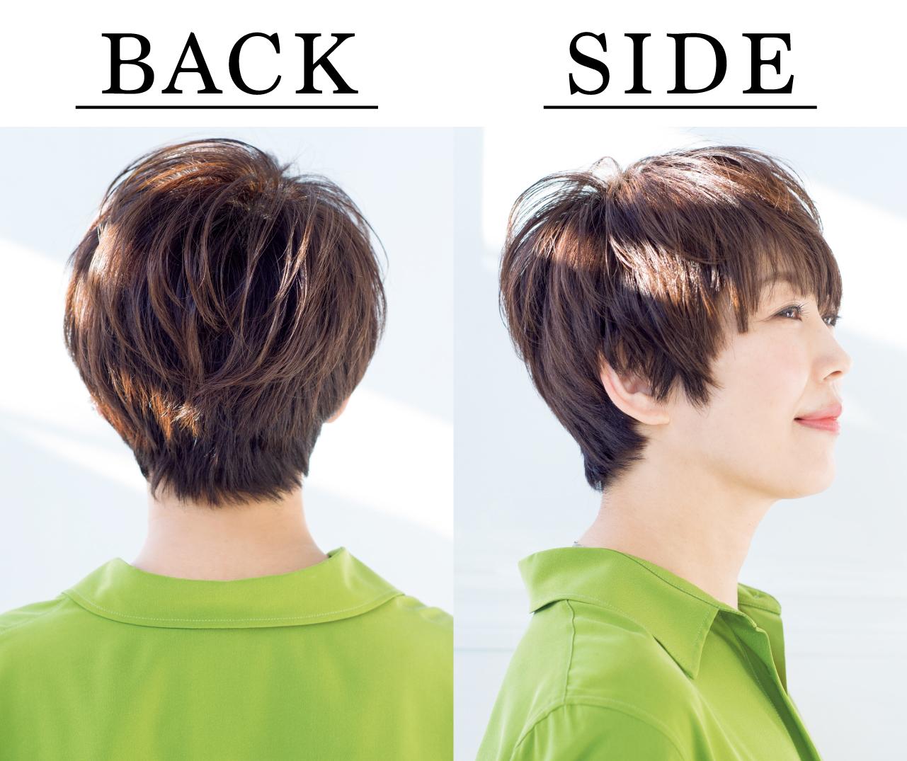 椿原順子さん Side Back