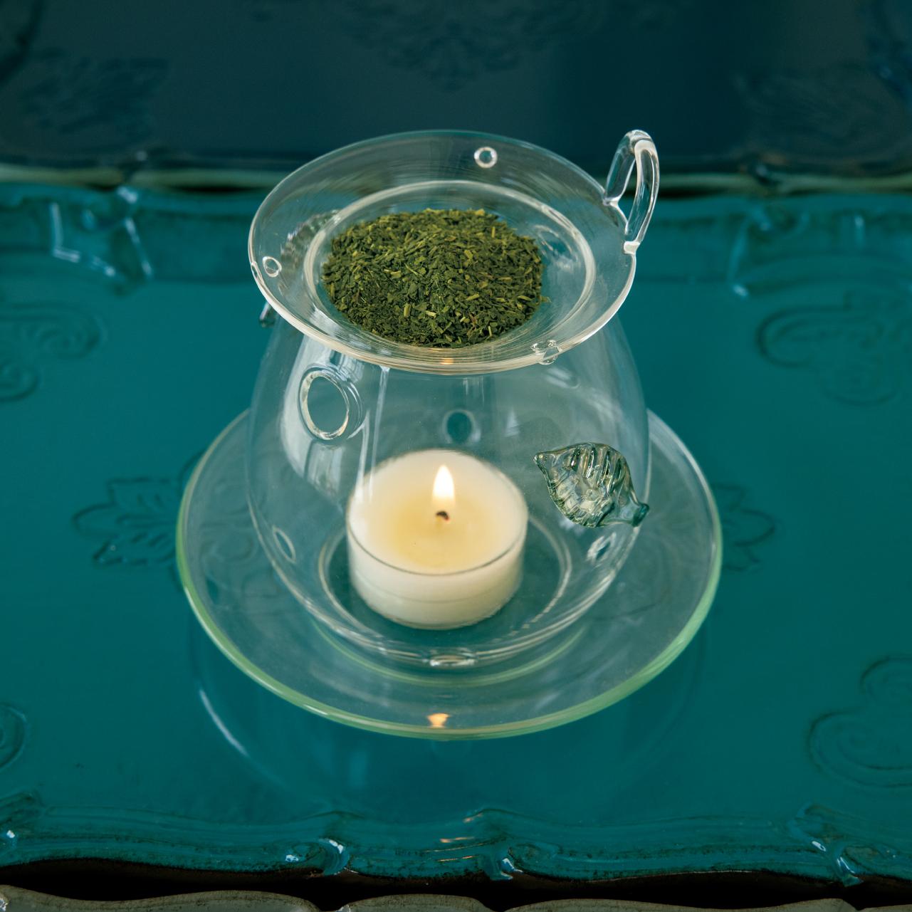 芳しい香りが広がる茶香炉