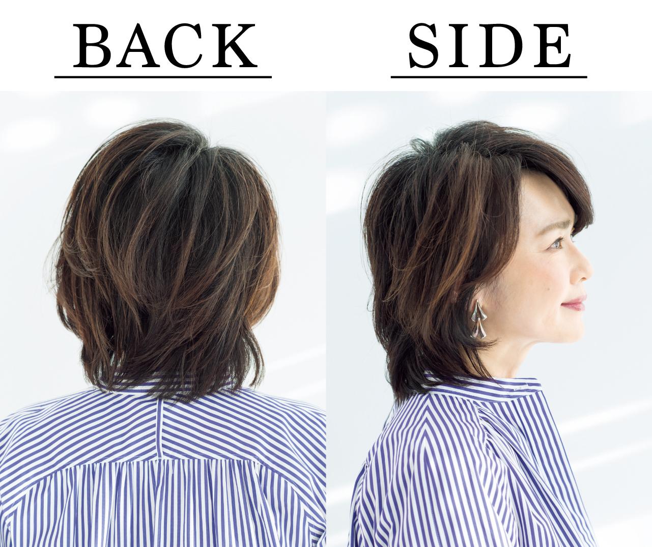 山本敦子さん Side Back