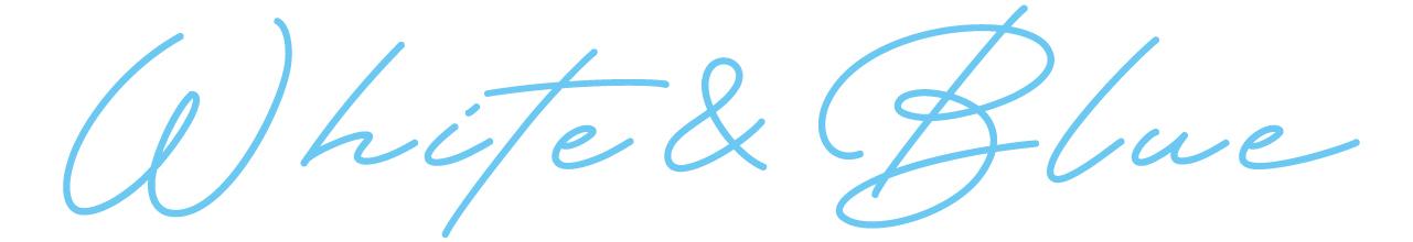 White&Blue