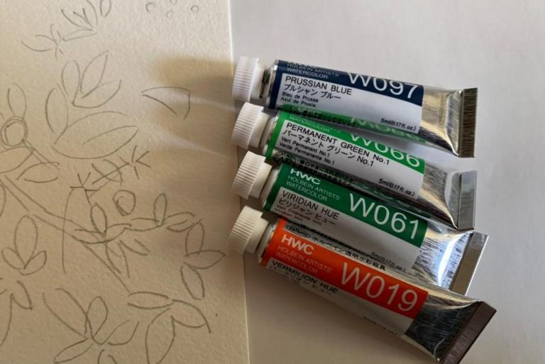 新しい趣味開拓のために水彩画を始めたら、野村重存先生に絵を見てもらえることになった話<後編>今から美術の時間です!