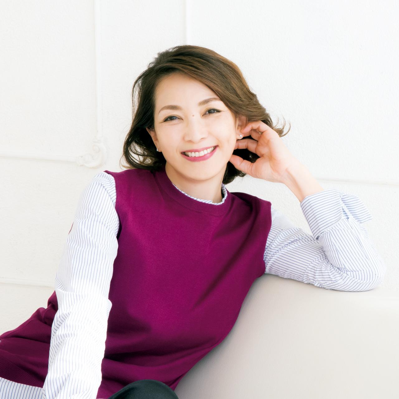 松本孝美さん 服/本人私物