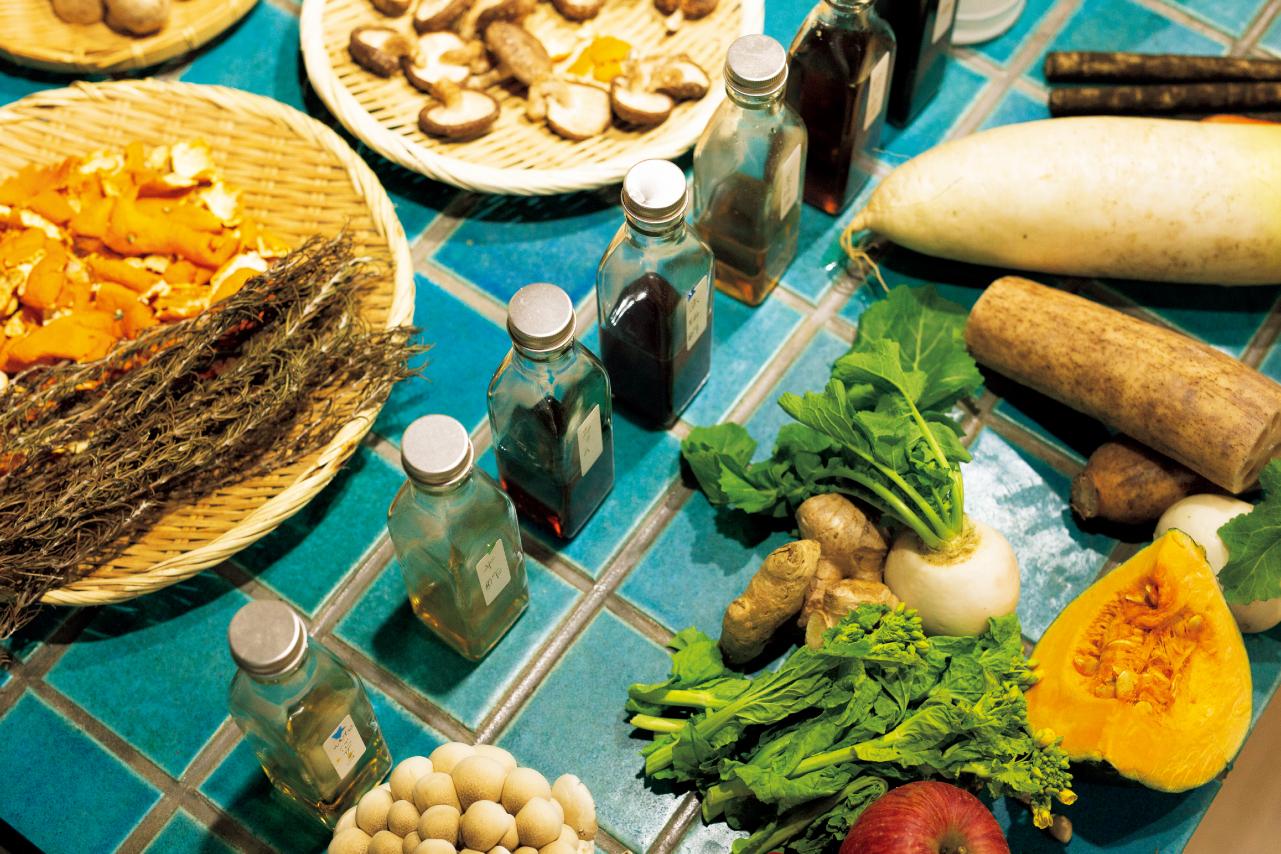 食材や調味料、人の体調を「陰(冷える)・陽(温める)の7タイプに分ける」というのが、オオニシさんの食養生の特徴