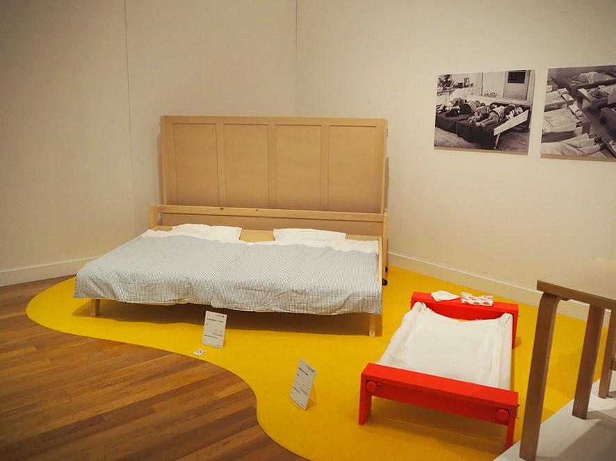 世田谷美術館 アアルト展 子供用ベッド