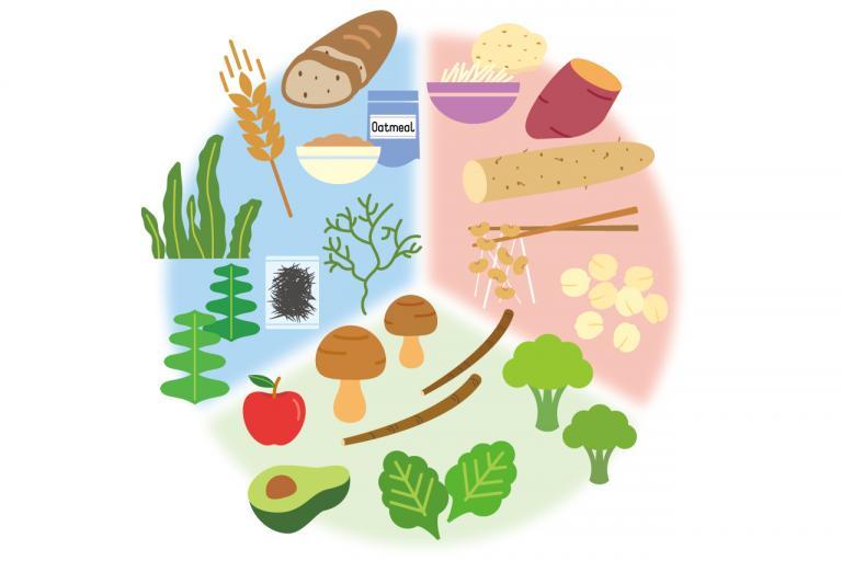 茶色い食材に注目/食物繊維の効率的なとり方②
