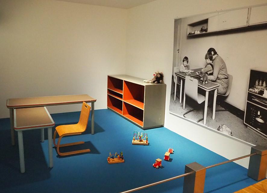 世田谷美術館 アアルト展 アイノがデザインした子供用家具