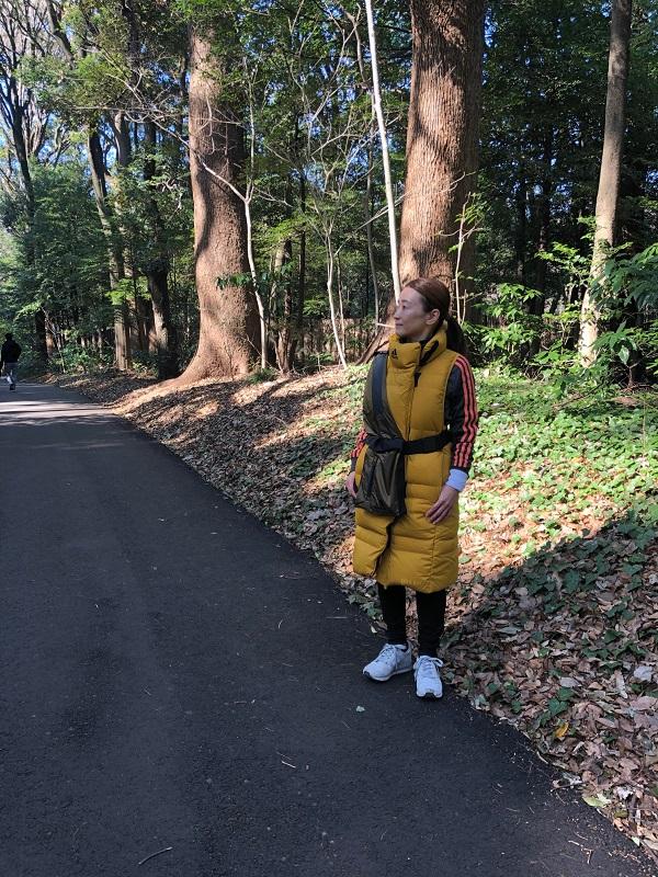 小林さん 2月のwalking