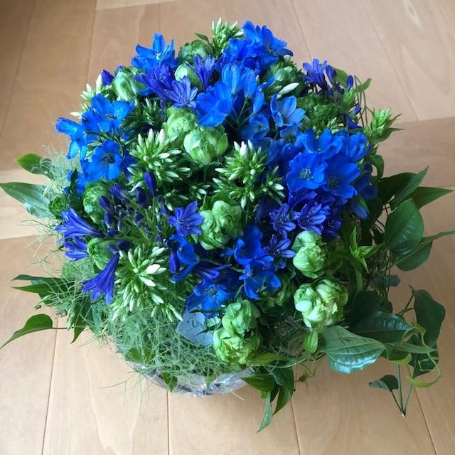 東信『JARDINS des FLEURS (ジャルダン・デ・フルール)』ブルーのブーケ