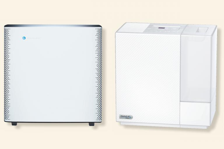 空気清浄器と加湿器はデザインも重視「ブルーエア センスプラス」「ダイニチ工業 RXシリーズ」/素敵女医が愛用する生活家電①