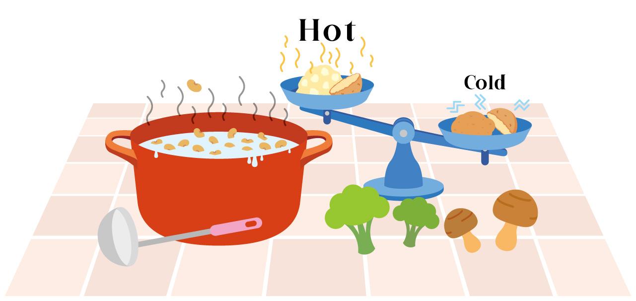 豆いも穀類(レジスタントスターチ)は「加熱+冷ます」が重要!