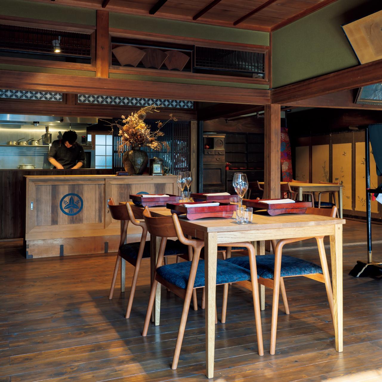 実家の古民家をレストランに改装