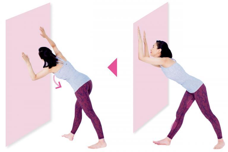 「ニーイン」タイプの膝痛は、太もも裏とすねの外側を緩めれば解消できる!/30秒ストレッチ⑤