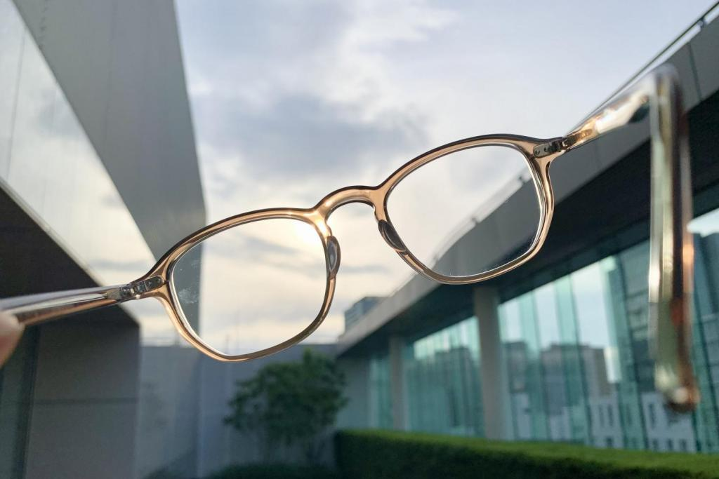 隠れ遠視の眼精疲労をとるために作った3カ月限定の遠近両用メガネ