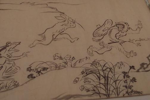 今回は一気に全巻展示 鳥獣戯画を見に上野に行こう