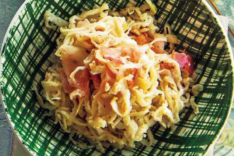 切り干し大根のベーコン炒め/5分でできる「センイ小鉢」②