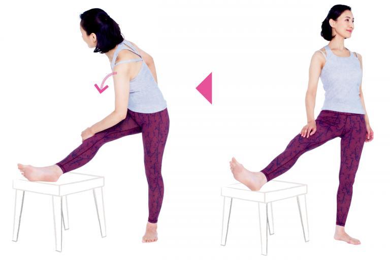 「お尻や太もも裏」の痛みは、太もも内側と腰の外側を緩めると楽になる!/30秒ストレッチ⑥