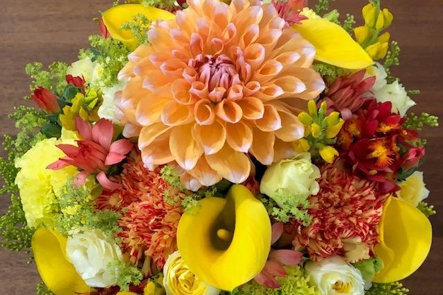 自分に贈るオーダーメイドの花束